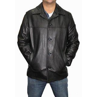 Alfani Men's Brasco Leather Jacket