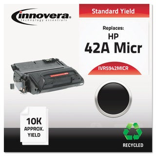 Innovera Remanufactured Q5942A(M) MICR Toner 10000 Yield Black