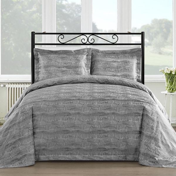 Comfy Bedding Silk Feel Cotton Blend 450 TC 3-piece Duvet Cover Set