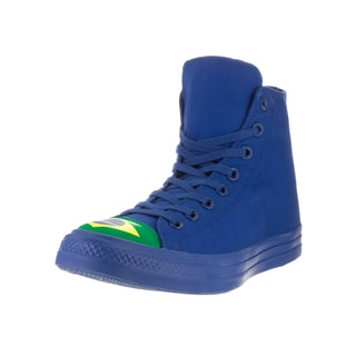 Converse Unisex Chuck Taylor All Star Hi Blue Textile Basketball Shoe