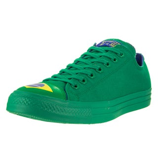 Converse Unisex Chuck Taylor All Star Ox Green Textile Basketball Shoes