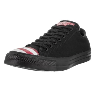 Converse Unisex Chuck Taylor All Star Ox Black Textile Basketball Shoes