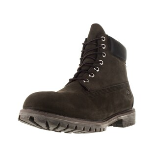 Timberland Men's AF Brown Synthetic Leather 6-inch Premium Boots