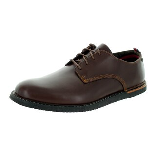 Timberland Men's Earhtkeepers Brook Park Brown Leather Casual Wedge Shoe