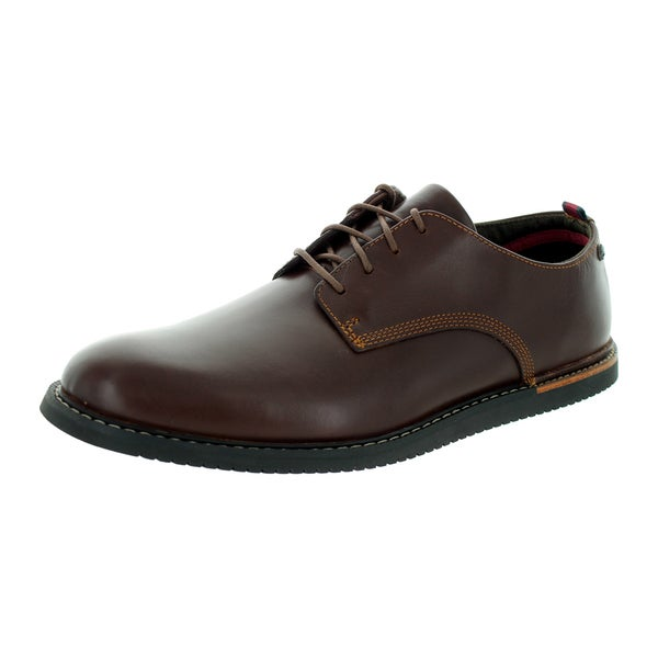 Shop Timberland Men's Earhtkeepers Brook Park Brown Leather