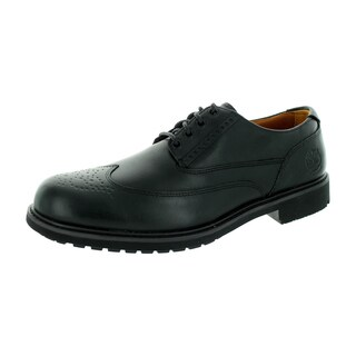 Timberland Men's Black Leather Earthkeepers Ek Stormbuck Brogue Casual Shoe