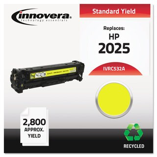 Innovera Remanufactured CC532A (304A) Toner 2800 Yield Yellow
