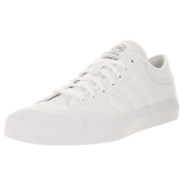 Shop Adidas Men s Matchcourt White Canvas Skate Shoe - Free Shipping ... d12030a45