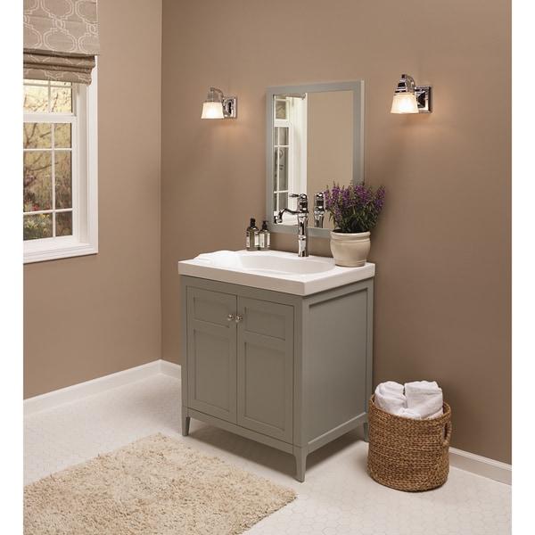 Shop Ronbow Briella 30-inch Bathroom Vanity Set with ...