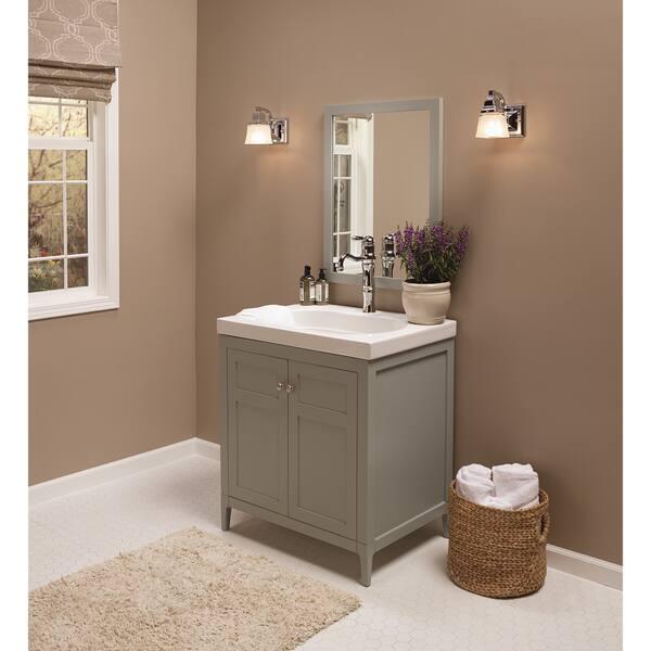 Shop Ronbow Briella 30-inch Bathroom Vanity Set with Mirror ...