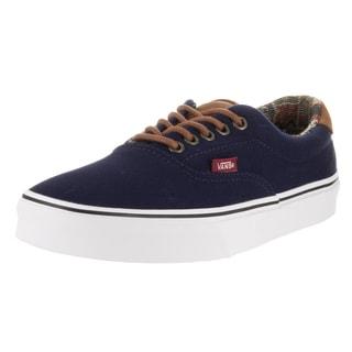 Vans Unisex Era 59 (C L) Blue Textile Skate Shoes