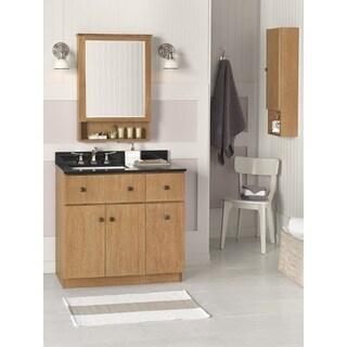 Ronbow Amberlyn 36-inch Bathroom Vanity Set in Vintage Honey