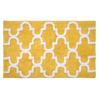 Saffron Fabs 100-percent Soft Cotton 30 x 50 Rug
