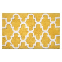 Saffron Fabs 100-percent Soft Cotton 30 x 50 Rug