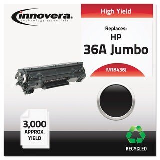 Innovera Remanufactured CB436A(J) (36A) Laser Toner 3000 Yield Black