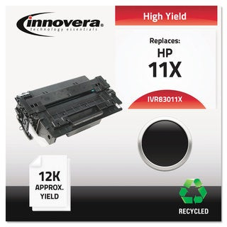 Innovera Remanufactured Q6511X (11X) High Yield Laser Toner 12000 Yield Black