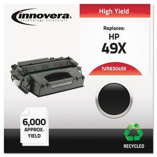 Innovera Remanufactured Q5949X (49X) Laser Toner 6000 Yield Black