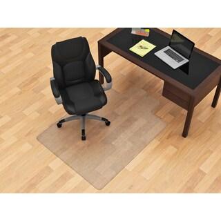 Clear 45-inch x 53-inch Under-chair Hard Floor Mat