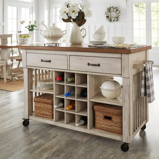 two tone kitchen island kitchen islands for less overstock 6437