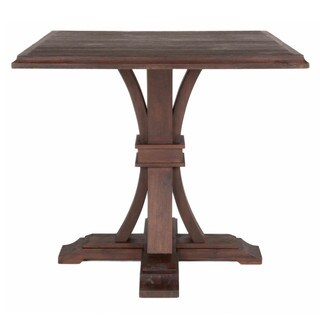 Gray Manor Darby Rustic Java Square Counter-height Dining Table