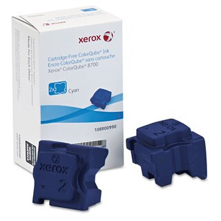 Xerox 108R00990 Ink Sticks 4200 Page-Yield Cyan 2/Box