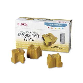 Xerox 108R00725 Solid Ink Stick 3400 Page-Yield 3/Box Yellow