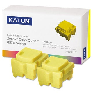 Katun 39399 Compatible 108R00928 Solid Ink Stick Yellow 2/Box