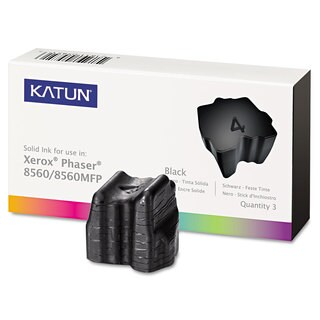 Katun 37994 Compatible 108R00726 Solid Ink Stick Black 3/Box