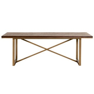 Laurel Dining Table, Rustic Java