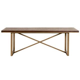 Laurel Dining Table, Rustic Java