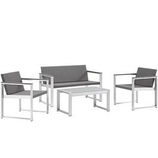 Triumph Outdoor Patio Aluminum Sofa Set
