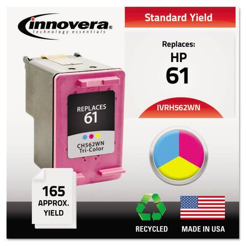 Innovera Remanufactured CH562WN (61) Ink 165 Page-Yield Tri-Color - Multi-Color