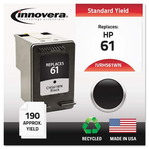 Innovera Remanufactured CH561WN (61) Ink 200 Page-Yield Black
