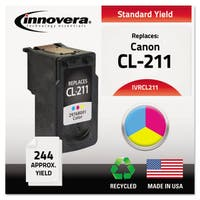 Innovera Remanufactured 2976B001 (CL-211) Ink 244 Page-Yield Tri-Color