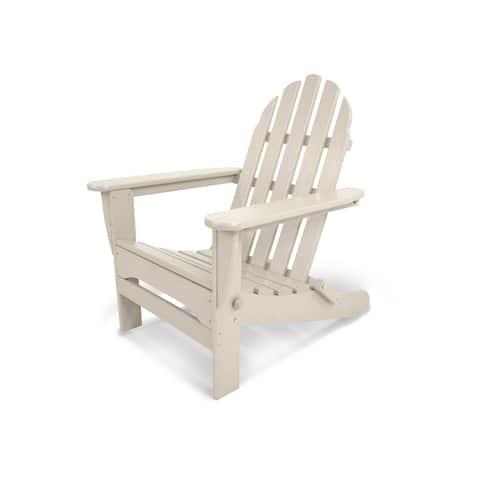 POLYWOOD Classic Outdoor Folding Adirondack Chair