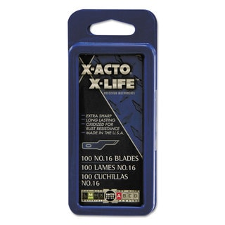 X-ACTO 16 Bulk Pack Blades for X-Acto Knives 100/Box