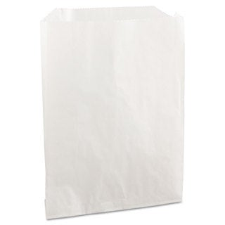 Bagcraft PB19 Grease-Resistant Sandwich/Pastry Bags 6 x 3/4 x 7 1/4 White 2000/Carton