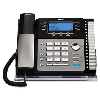 RCA ViSYS 25425RE1 Four-Line Phone with Digital Answering Machine Caller ID
