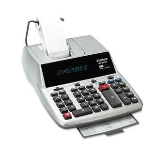 Canon MP25DV 12-Digit Ribbon Printing Calculator Black/Red Print 4.3 Lines/Sec