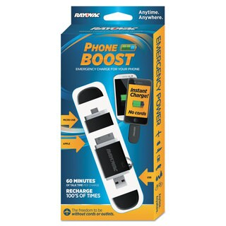Rayovac Phone Boost Key Chain Charger Cell Phones/Cameras/Mobile Devices