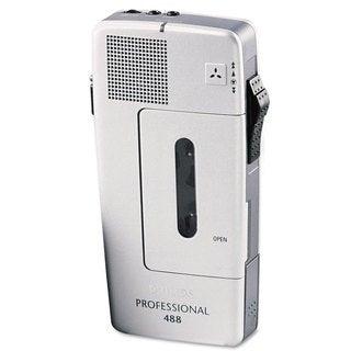 Philips Pocket Memo 488 Slide Switch Mini Cassette Dictation Recorder