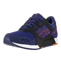 Asics Men's Gel-Lyte III Blue Synthetic Leather Running Shoes