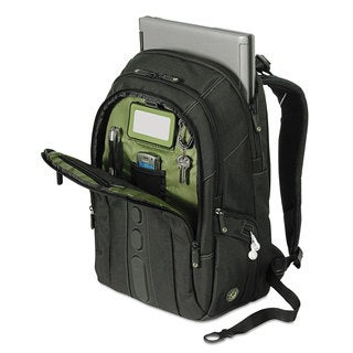 Targus Spruce EcoSmart Backpack 17-inch 19 1/2 x 13 x 6 3/4 Black