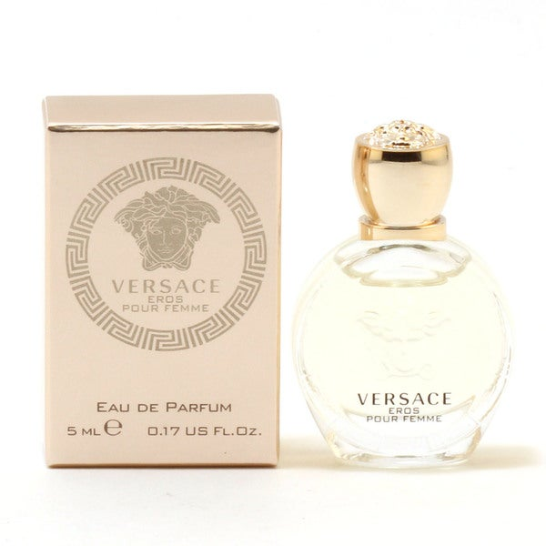 Shop Versace Eros Pour Femme Women s 0.17-ounce Eau de Parfum - Free  Shipping On Orders Over  45 - Overstock.com - 13986043 8e005cadd99