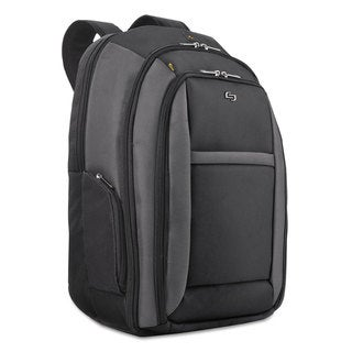 Solo Pro CheckFast Backpack 16-inch 13 3/4-inch x 6 1/2-inch x 17 3/4-inch Black