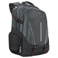 Solo Active Laptop Backpack 17.3 inches 12 1/2 x 6 1/2 x 19 Black