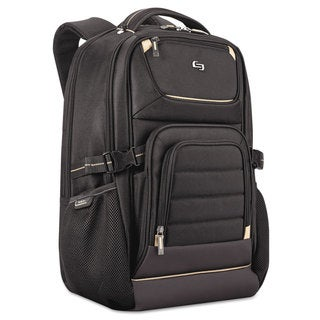 Solo Pro Backpack 17.3-inch 12 1/4-inch x 6 3/4-inch x 17 1/2-inch Black