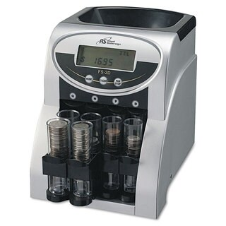 Royal Sovereign Fast Sort FS-2D Digital Coin Sorter Pennies Through Quarters