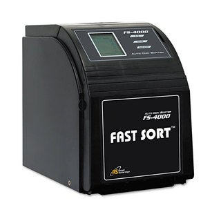 Royal Sovereign Fast Sort FS-44P Digital Coin Sorter Pennies Through Quarters Black/Silver