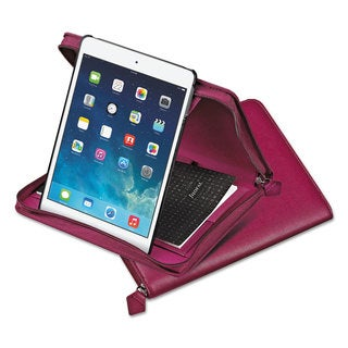 Filofax Pennybridge Case for iPad Air Raspberry